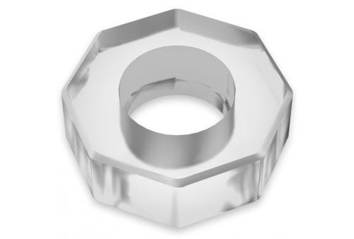 powering super flexible y resistente anillo pene 5cm pr10 clear