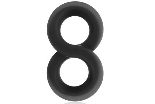 powering super flexible y resistente anillo pene y testiculos pr12 negro