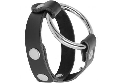 darkness anillo para pene y testículos bdsm