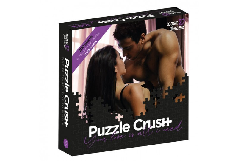 tease please puzzle crush your love is all i need 200 pc