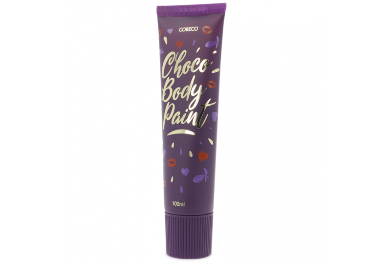 cobeco chocolate body paint 100 ml