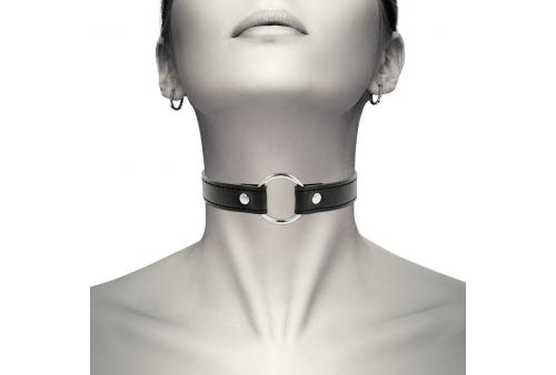 coquette collar cuero vegano accesorio woman
