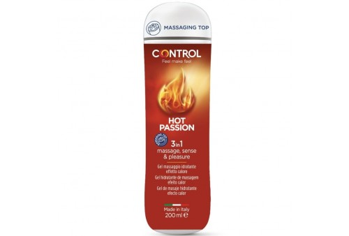 control gel 3 en 1 hot passion 200 ml