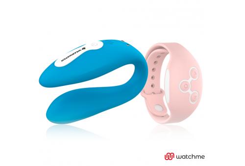 wearwatch vibrador dual technology watchme azul rosa