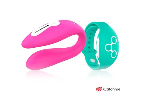 wearwatch vibrador dual technology watchme fucsia agua marina