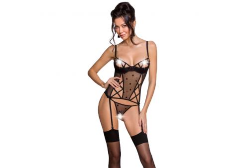passion lovelia corset negro s m