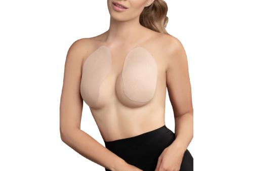 bye bra breast lift pads 3 pairs of satin nipple covers beige talla a c
