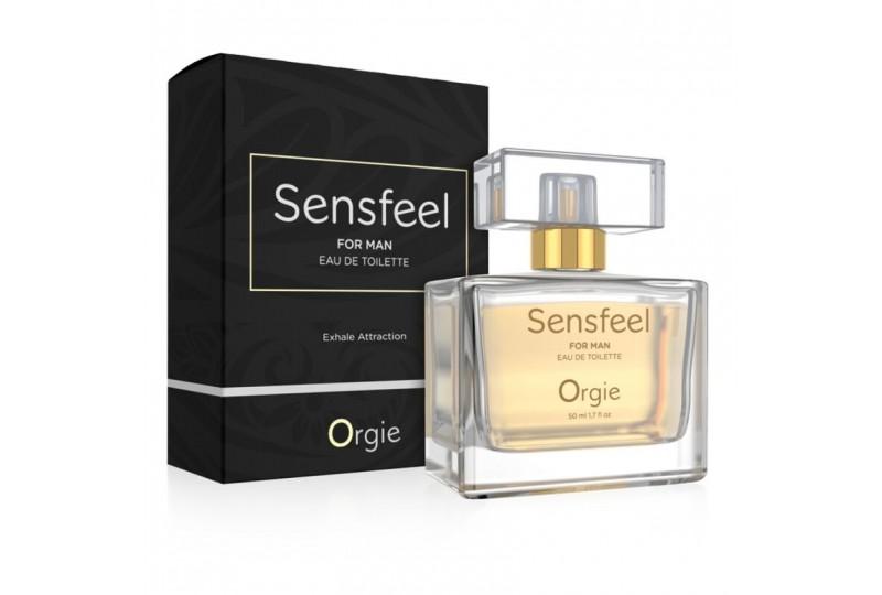 orgie sensfeel for man perfume con feromonas hombre 50 ml