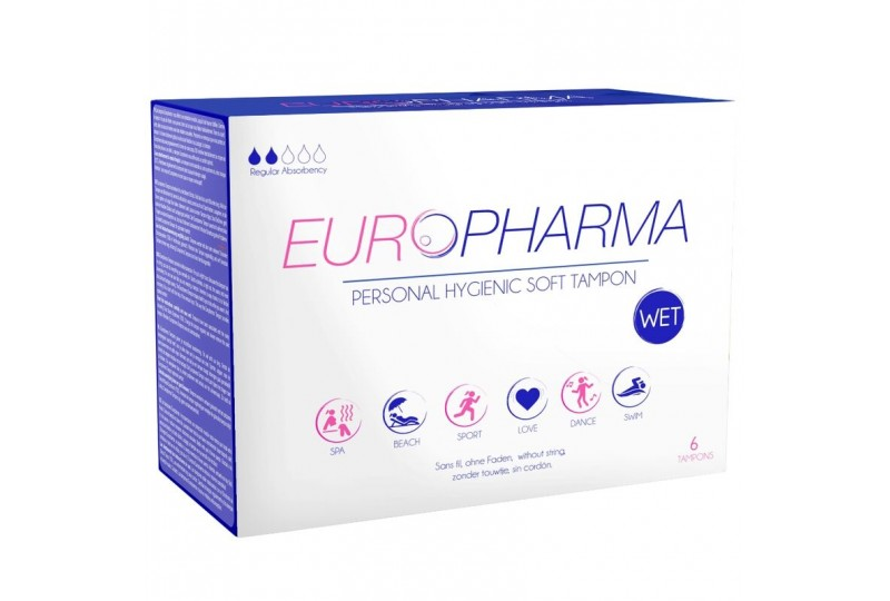 europharma tampons tampones action 6 unidades