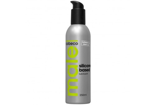 cobeco male lubricant silicone based 250 ml