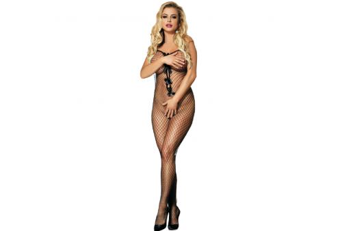 queen lingerie bodystocking con lazos en escote s l