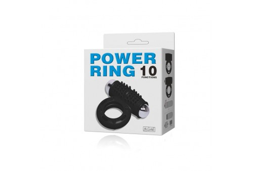 baile power ring anillo vibrador 10v