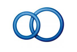 potenz duo azul anillos pene pequeño size s