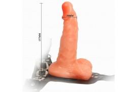 arnes con pene realistico y braguita ajustable ultra passionate 155cm