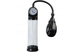 bomba de ereccion automatica con medidor de presión