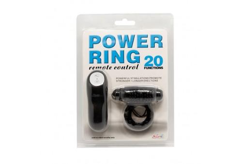 baile anillo control remoto negro 20v
