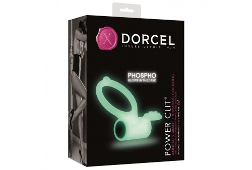 dorcel anillo c estimulador power clit luminescente