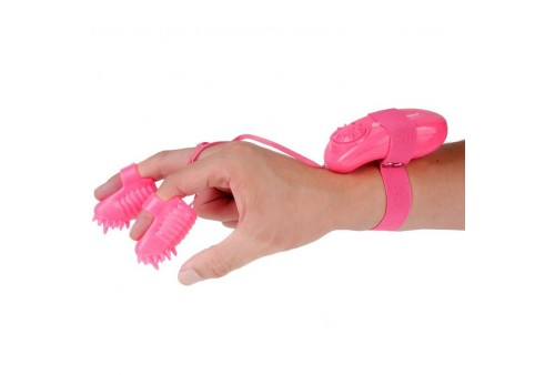 neon magic touch finger dedal rosa