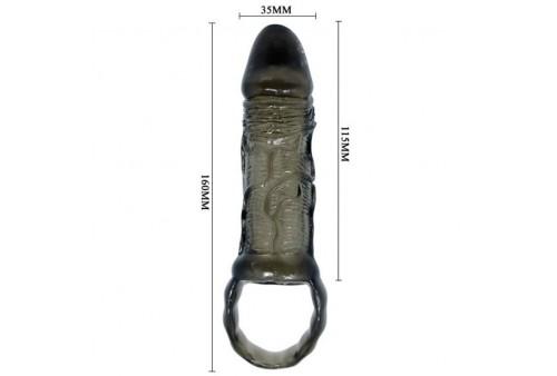 baile funda extensora pene con strap para testiculos 115 cm