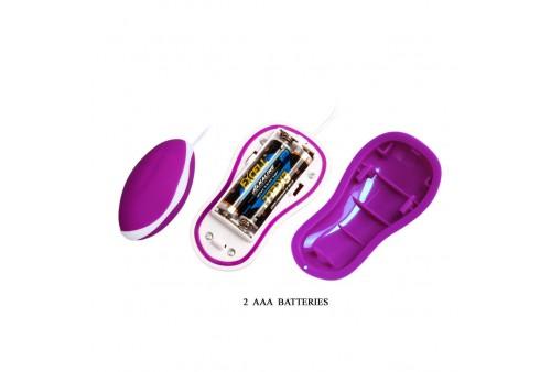 pretty love flirtation huevo vibrador con control remoto avery