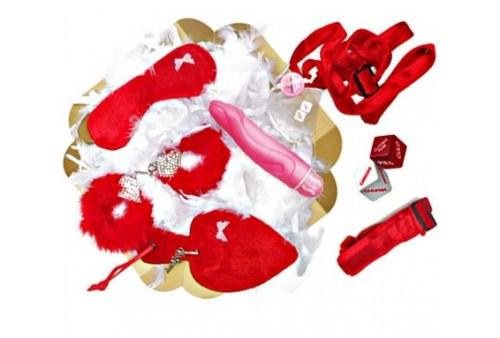 caja pétalo bondage rojo te quiero mucho