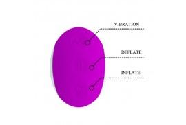 pretty love dempsey vibrador hinchable recargable