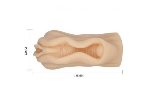 mini masturbador masculino diseño labios vagina