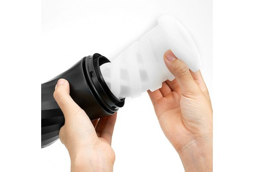 tenga air tech twist reusable vacuum cup ripple