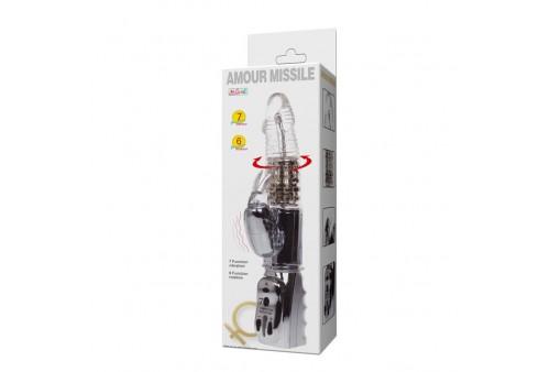 baile amour missile rotador transparente 265cm