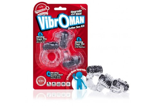 screaming o vibroman kit 3 pcs