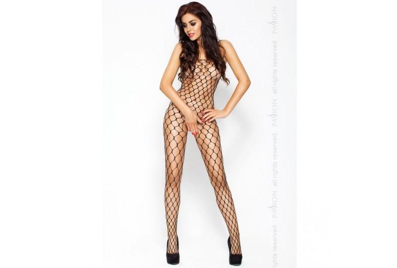 passion erotic line catsuit negro bs001