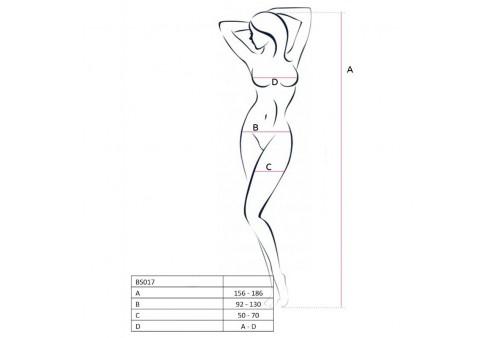 passion woman bs017 bodystocking negro talla unica