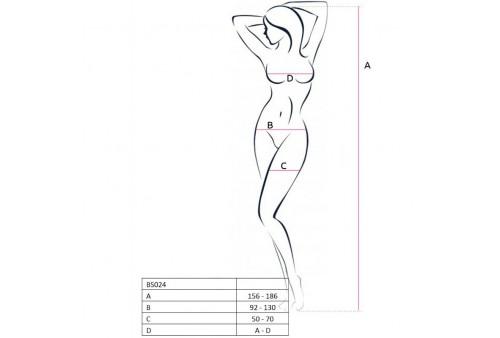passion woman bs024 bodystocking negro talla unica