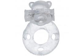 casual love 26 anillo vibrador conejito transparente