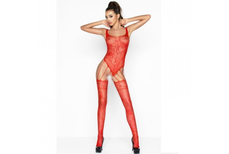 passion woman bs034 bodystocking rojo talla unica