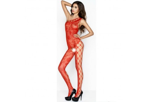 passion woman bs036 bodystocking rojo talla unica