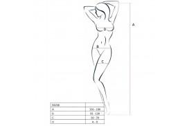 passion woman bs038 bodystocking negro talla unica