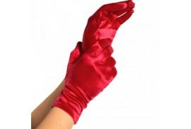 legavenue guantes satin rojo