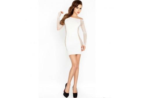 passion woman bs025 bodystocking estilo vestido blanco talla unica