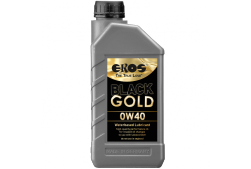 eros black gold 0w40 lubricante base agua 1000ml