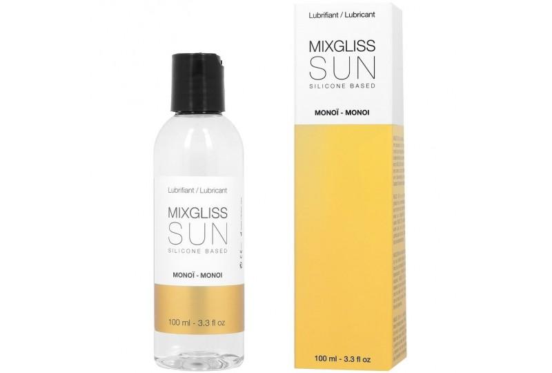 mixgliss based lubricante base silicona ároma monoi 100ml