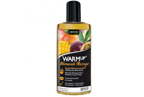aquaglide warmup aceite de masaje mangomaracuya 150 ml
