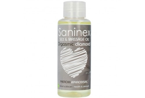 saninex orgasmic diamond aceite de masaje 100 ml