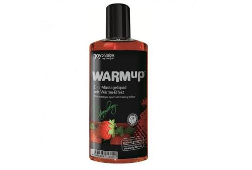 aceite de masaje efecto calor fresa 150ml