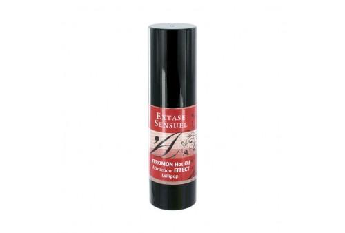 extase sensuel aceite de masaje efecto calor con feromonas pirulet 30ml