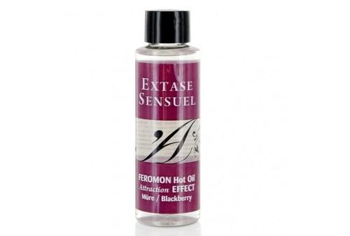 extase sensuel a de masaje efecto calor con feromonas mora 100ml