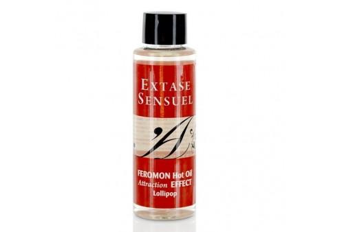 extase sensuel a de masaje efecto calor con feromonas pirulet 100ml