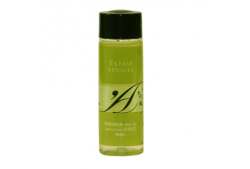 extase sensuel aceite de masaje efecto calor con feromonas mojito 100ml