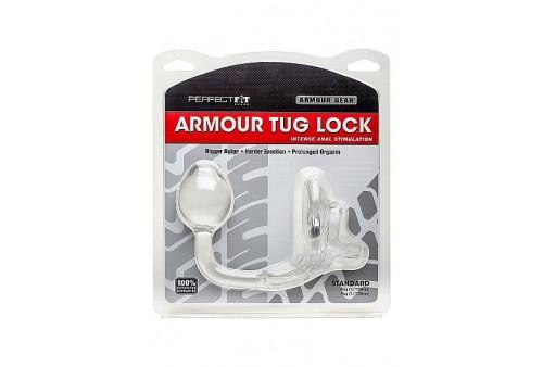perfectfit armour tug anillo con plug transparente