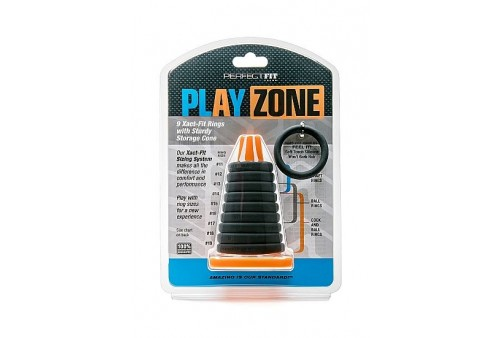 perfect fit play zone kit 9 anillos con cono